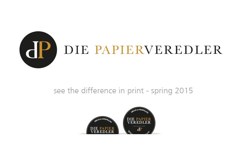 Die Papierveredler - Logogestaltung
